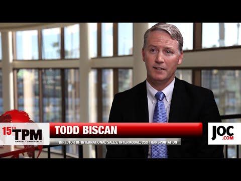 JOC | TPM 2015 Sponsor: CSX, Todd Biscan
