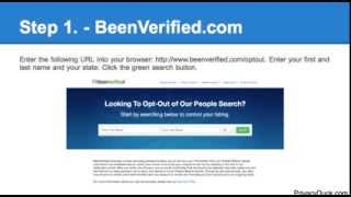 how to delete your personal information from beenverified com