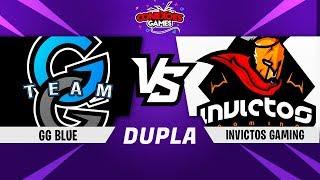 GG BLUE vs INVICTOS GAMING - TORNEIO DUPLA PS4 - QUARTAS DE FINAL