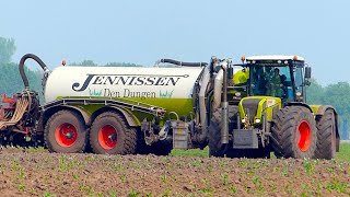 Claas Xerion 3800 Trac VC & Kaweco SI 25.0000 ZWH | Jennissen Den Dungen