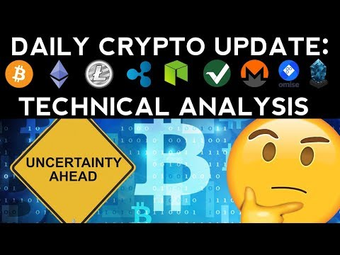 Daily Crypto Update (10/27/17) Uncertainty Ahead! + Technical Analysis