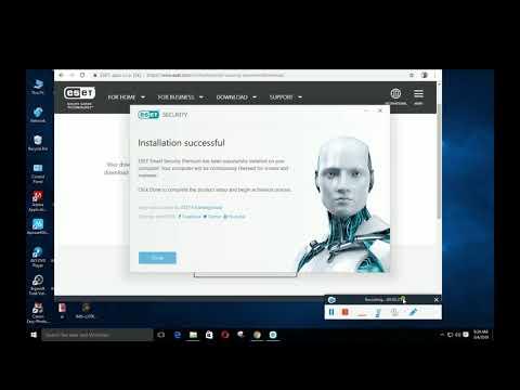 Cara Membuat Eset Nod32 Antivirus 4 Menjadi Full Version Baru