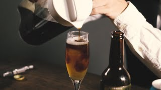 ビール×コーヒーが美味! コーヒー芸人、コーヒールンバ・平岡佐智男のコールドブリュー(水出しコーヒー)簡単アレンジ thumbnail