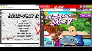 Na śmieszkowo Online#1 - Draw Play 3 vs My Dolphin Show 7