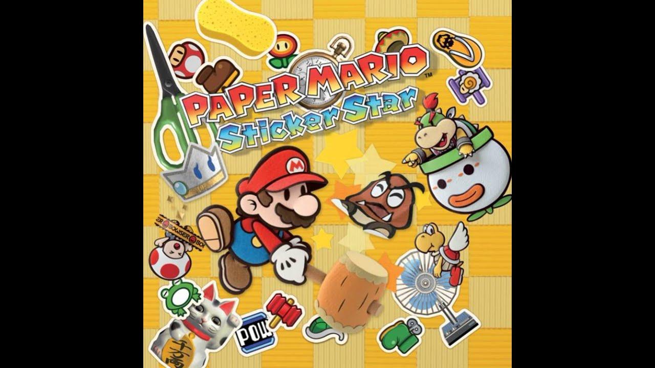 Paper Mario Sticker Star OST