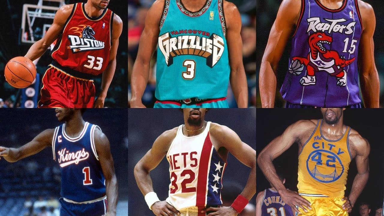 brand new 0a1c4 50bba Top Ten NBA Throwback Jerseys of All Time