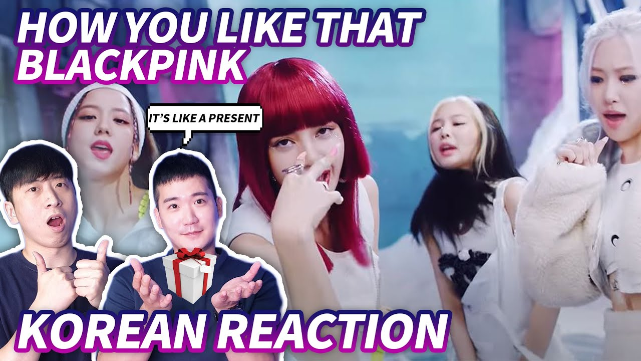 🔥(ENG) KOREAN RAPPERS react to BLACKPINK - 'How You Like That' 🔥