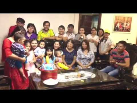 Sinh nhật Thiên Minh 1 tuổi. 28-9-2016