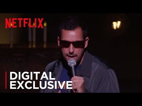 Adam Sandler: 100% Fresh  Uber Driver  Music Video HD  Netflix