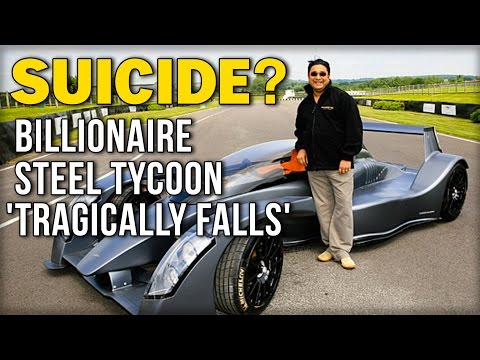 SUICIDE? BILLIONAIRE STEEL TYCOON 'TRAGICALLY FALLS'