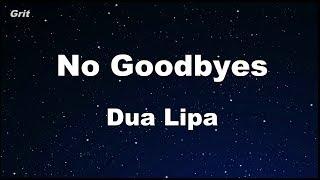 No Goodbyes Dua Lipa Karaoke No Guide Melody Instrumental.mp3