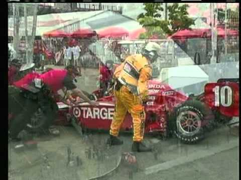 2011 Indycar Toronto - Will Power and Dario Franchitti controversial incident