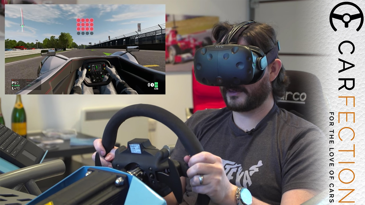 This is probably the best home VR racing simulator money can