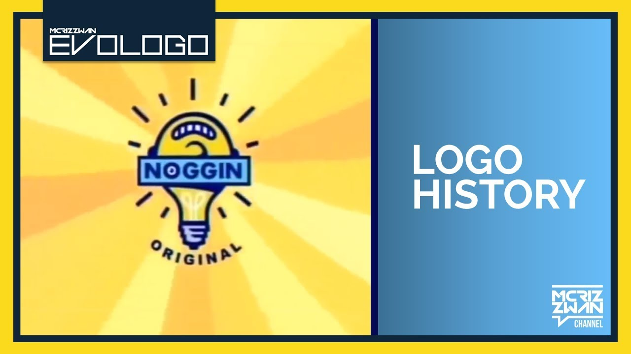 Noggin Original Logo History Evologo Evolution Of Logo Youtube