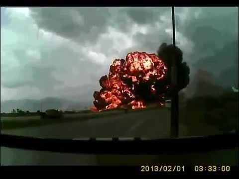 Crash d'un avion-cargo Boeing 747 en Afghanistan 7 !