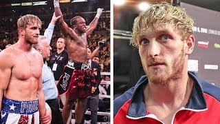 LOGAN PAUL: I Pretend to be a KILLER but Maybe I'm Just a NICE GUY! vs KSI 2