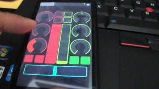 Controlling VirtualDJ Pro Using TouchOSC Android Apps