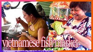 Chợ Bình Chánh | vietnamese fish market