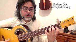 Learn Super-Handy Flamenco Chords 6 (por Mi bemol /G#m) Paco de Lucia´s style lesson Ruben Diaz
