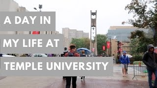 A DAY IN MY LIFE @ TEMPLE UNIVERSITY