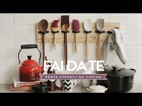 Porta utensili da cucina fai da te | Westwing - YouTube