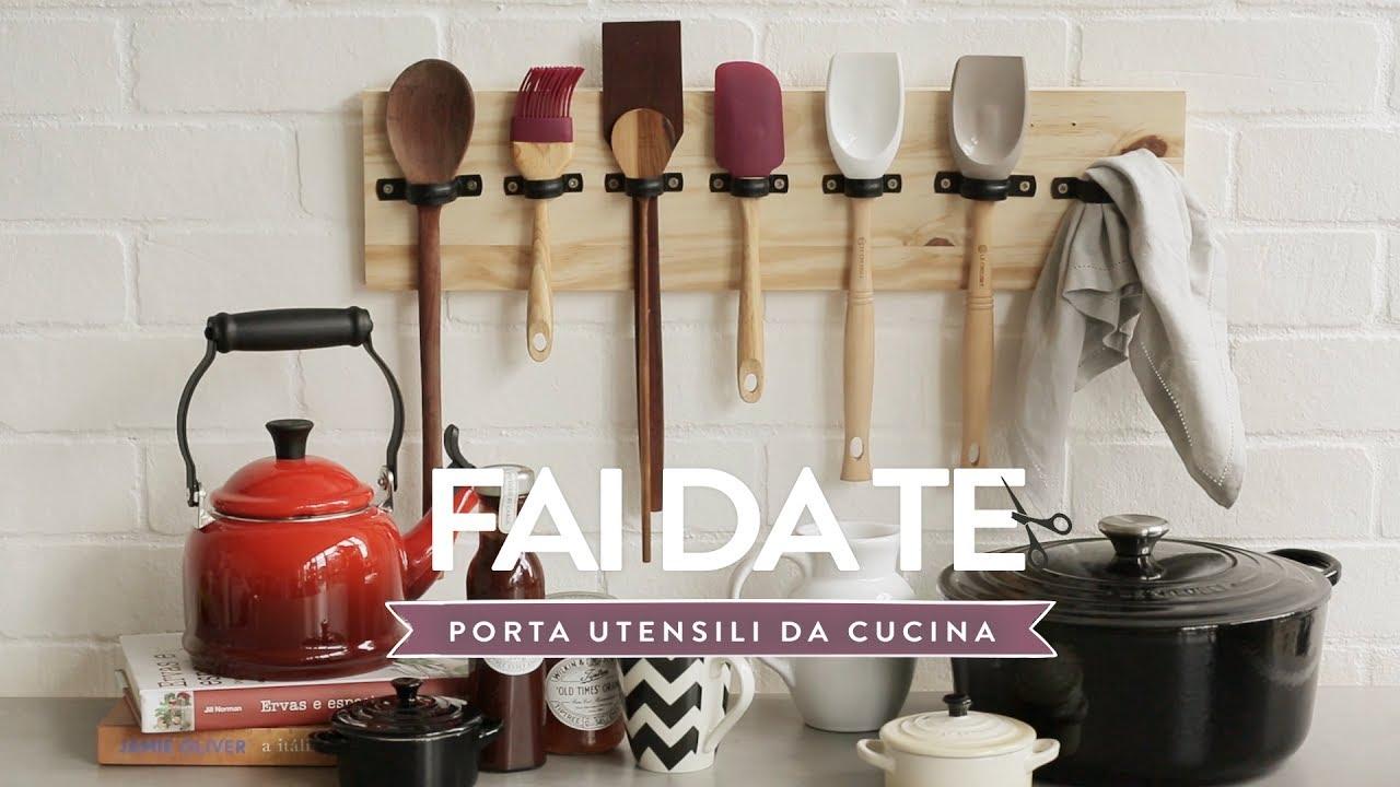 Porta utensili da cucina fai da te  Westwing  YouTube