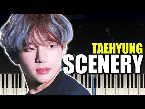 BTS V - SCENERY Piano Cover/Piano Tutorial with Sheet Music thumbnail