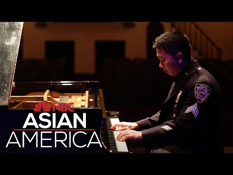 NYPD Cop Chris Yip Is Using Music To Give Back To His Community | NBC Asian America