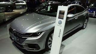 2019 Volkswagen Arteon R-Line 2.0 TDI SCR 150 - Exterior and Interior - Auto Show Brussels 2019