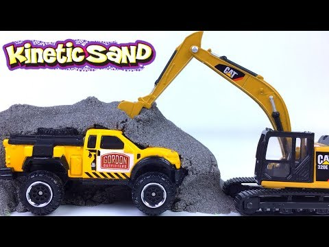 MIGHTY MACHINES UNCOVER CITY VEHICLES - FUN WITH EXCAVATOR FORKLIFT WHEELED LOADER BUS BOAT & VAN