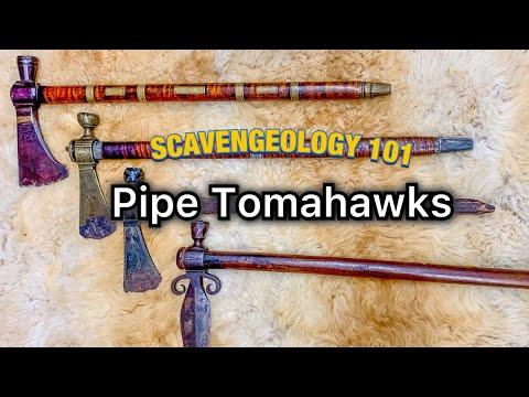 Scavengeology 101 Episode 1:    18th Century Pipe Tomahawks!