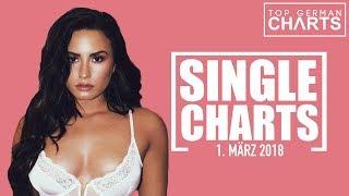 TOP 40 SINGLE CHARTS - 1. MÄRZ 2018 2017 Video