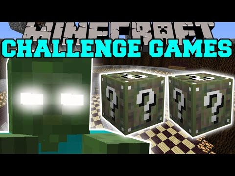 Minecraft: BOB'S MOM CHALLENGE GAMES - Lucky Block Mod - Modded Mini-Game