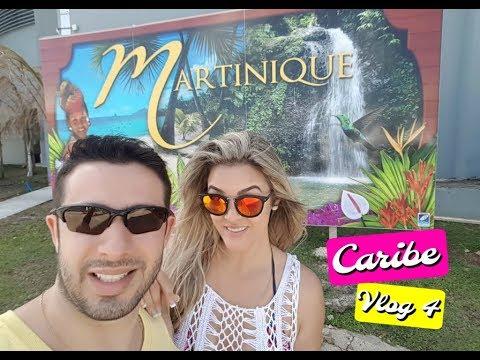 Vlog 4 Caribe - Dia de parada na Ilha de Martinica (Martinique) - Cruzeiro Zenith da Pullmantur