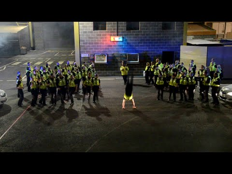 West Yorkshire Police Special Constables - Running Man Challenge