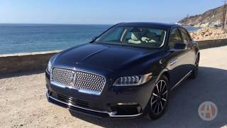 2017 Lincoln Continental: First Drive Review Video