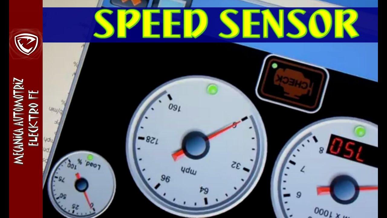 Diagnostico de velocimetro y speed sensor - YouTube