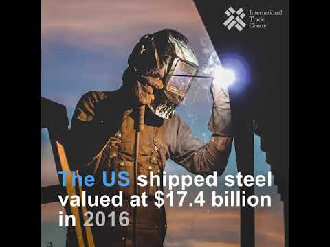 What are the world biggest exporters and importers of steel?