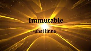 Immutable - shai linne (Lyric Video)