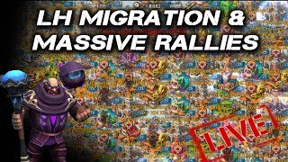 Migrated & ZEROED 1.6 Billion Might LH Live Stream 40+ Rallies - Lords Mobile