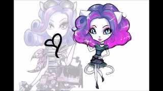 Monster High HOW TO DRAW: Chibi Catrine Demew