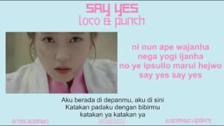 Video PUNCH - SAY YES (Ost. Moon Lovers) [MV, EASY LYRIC, LIRIK INDONESIA] download MP3, 3GP, MP4, WEBM, AVI, FLV Juni 2018