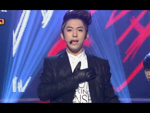 The BOSS - Why Goodbye, 대국남아 - 와이 굿바이, Show Champion 20131204