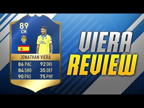 FIFA 17 TOTS VIERA REVIEW 89 FIFA 17 TEAM OF THE SEASON PLAYER REVIEW!