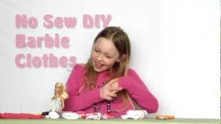 No-sew Barbie Clothes