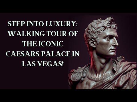 Las Vegas Strip Inside Caesars Palace Hotel Las Vegas