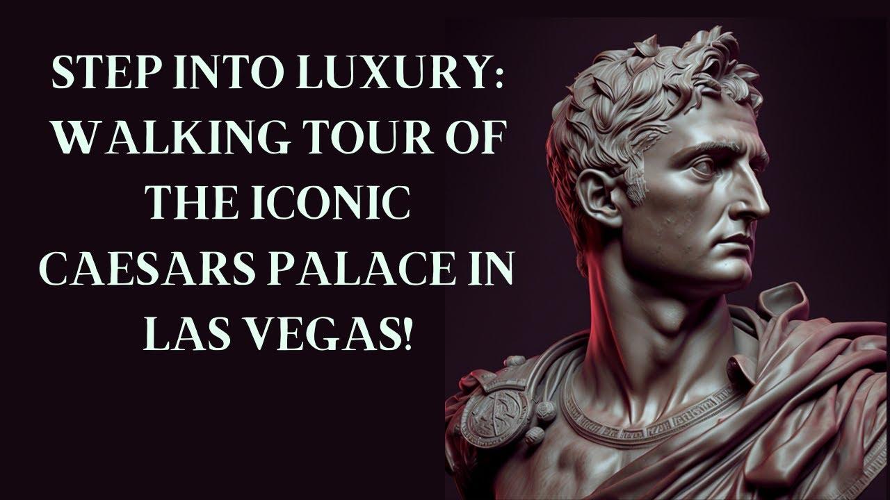 Las Vegas Strip 2017 Inside Caesars Palace Hotel