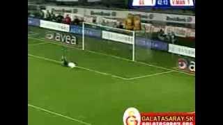 25.02.2006 Galatasaray 2 Manisa 1 Volkan Arslan mükemmel gol