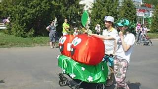 Парад колясок в Кирово-Чепецке