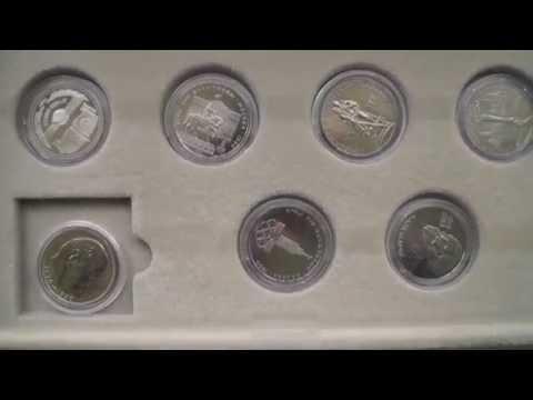 Юбилейные монеты СССР пруф. Собирать пруф или анц? Моя коллекция. Нумизматика.